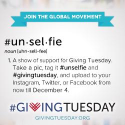 #GivingTeusday